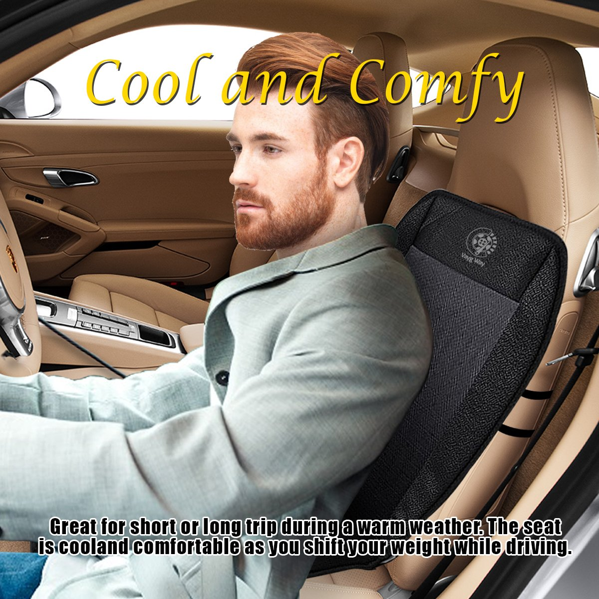 Amazon.com: VaygWay Car Heated Seat Cover Cushion Hot Warmer - 2-Piece Set 12V Heating Warmer Pad Hot Gray Cover: Automotive