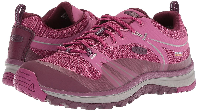 bb1137f7a14 KEEN Women's Terradora WP-W Hiking Shoe, Boysenberry/Grape Wine, 5 M US