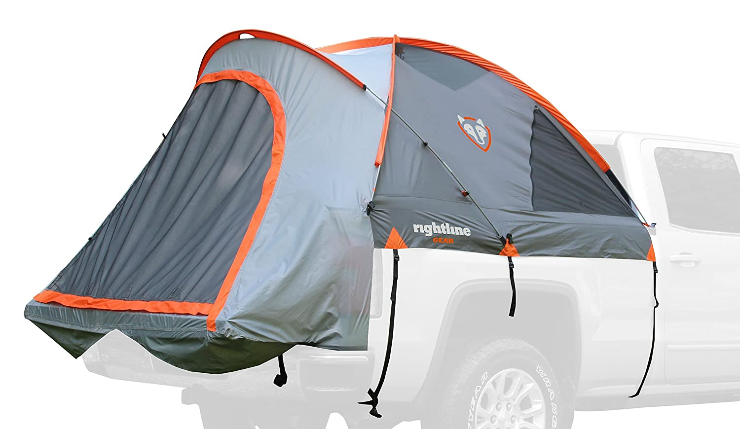 Rightline Gear 110766 Mid Size Short Bed Truck Tent (5') - Tall Bed