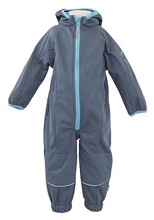 e7435809c122 Mikk-Line Baby Boys Snowsuit - Multicoloured - 6-9 Months  Amazon.co ...