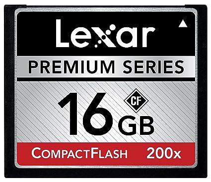 Lexar CompactFlash - Tarjeta de Memoria (16 GB, 200X) 16 GB ...