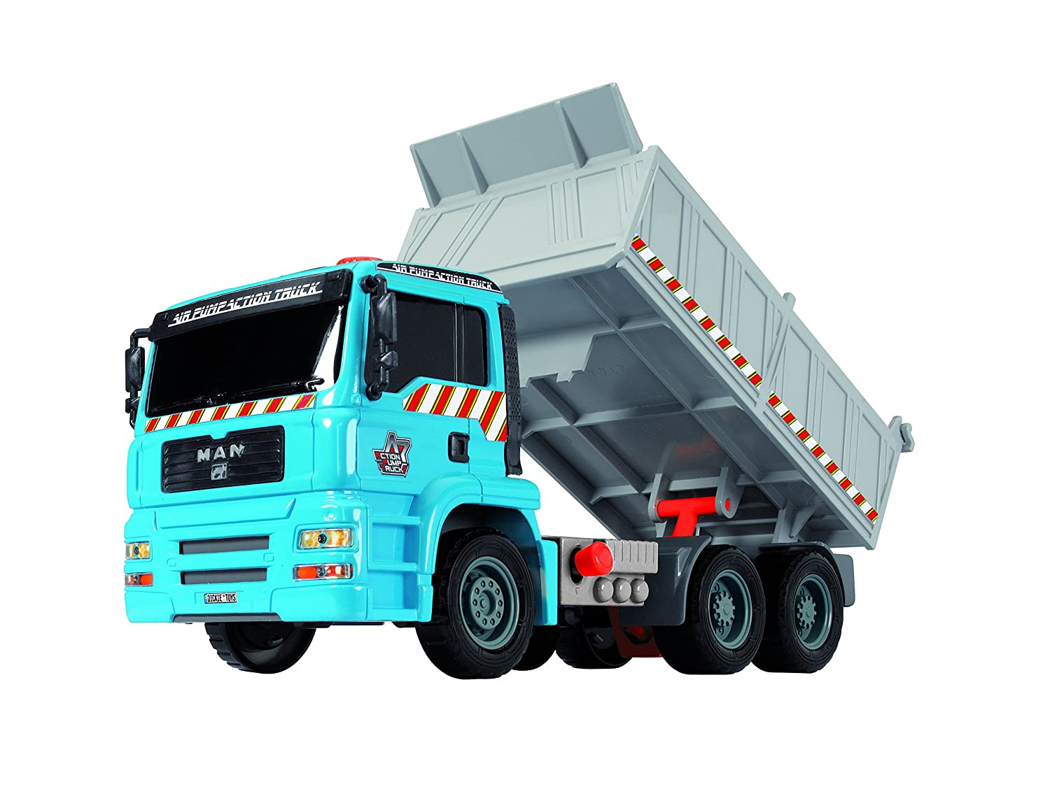 11 11 Dickie Imports Dickie Toys Air Pump Action Dump Truck 203805001AMU