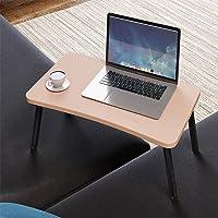 Renkli Laptop Sehpası Katlanabilir Yatak Koltuk Üstü Kahvaltı Bilgisayar Sehpası CAPPUCINO