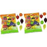DinDon Fruity's Snack TikTok Ju-C Jelly Fruit Candy Bag 22.6 oz