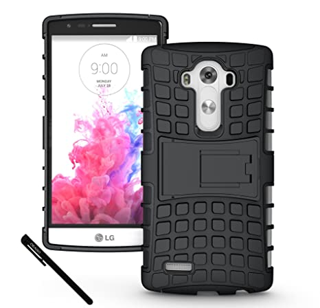 LG G4 Case, OEAGO LG G4 Case   Tough Rugged Dual Layer Protective Case With