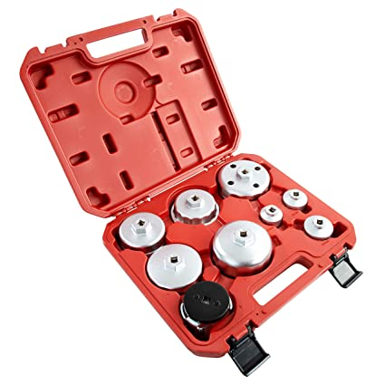 OEMTOOLS 27199 Oil Filter Cap Wrench Set (9 Piece)