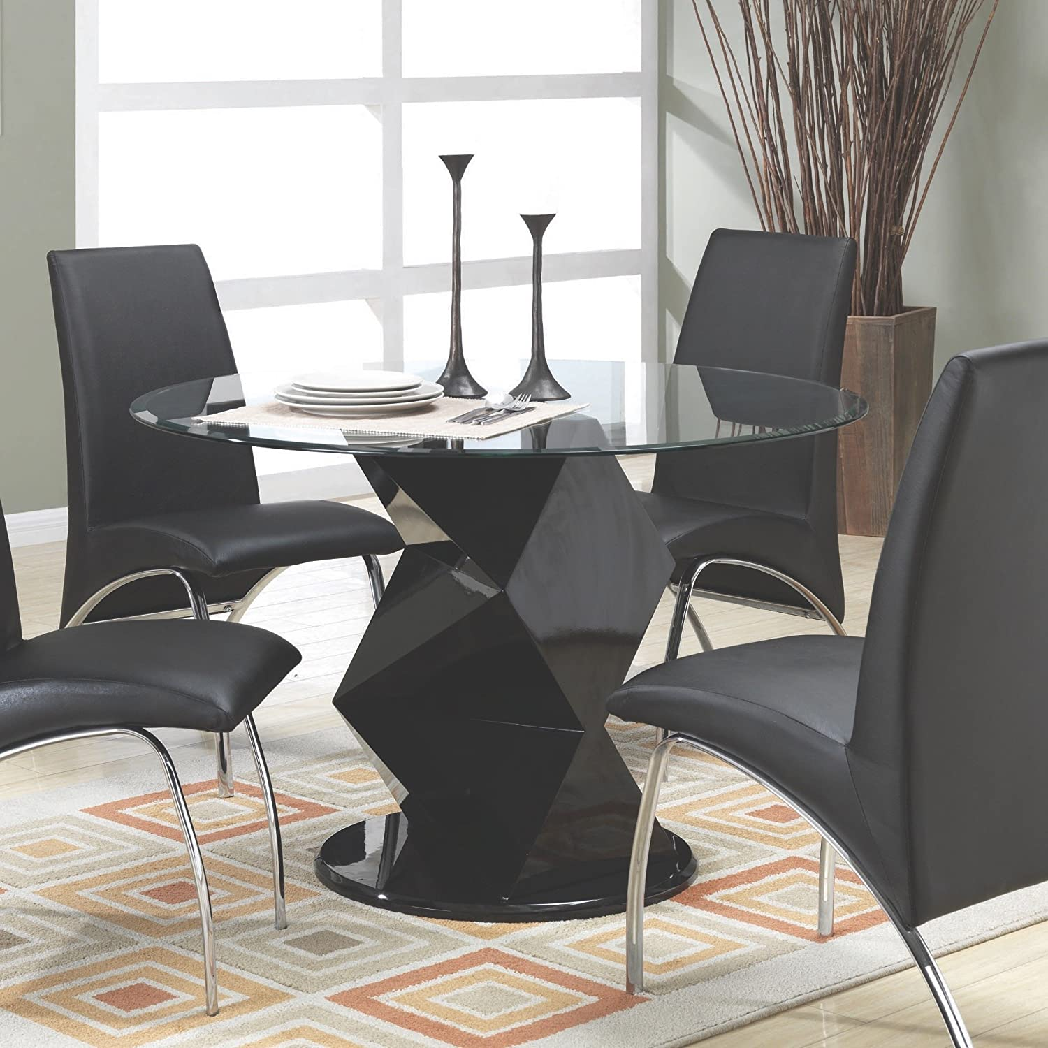 Amazon Coaster Home Furnishings Contemporary Dining