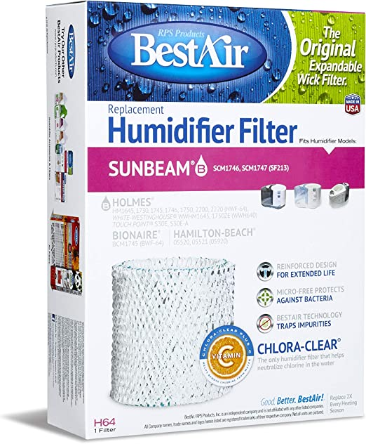 Home, Furniture & DIY Humidifiers 6 Pack Humidifier Filter