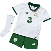 New Balance Children's Official FAI Ireland Home Baby Soccer Kit with Jersey/Shorts/Socks