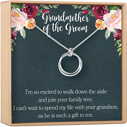 Mother of the Bride Gift Mother of the Groom Gift Family Tree Pendant Tree of Life Necklace in Gold Plated Sterling Silver