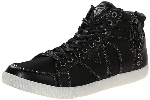 Guess Jarlen Alto-Top de Las Zapatillas de Deporte: Amazon.es: Zapatos y complementos