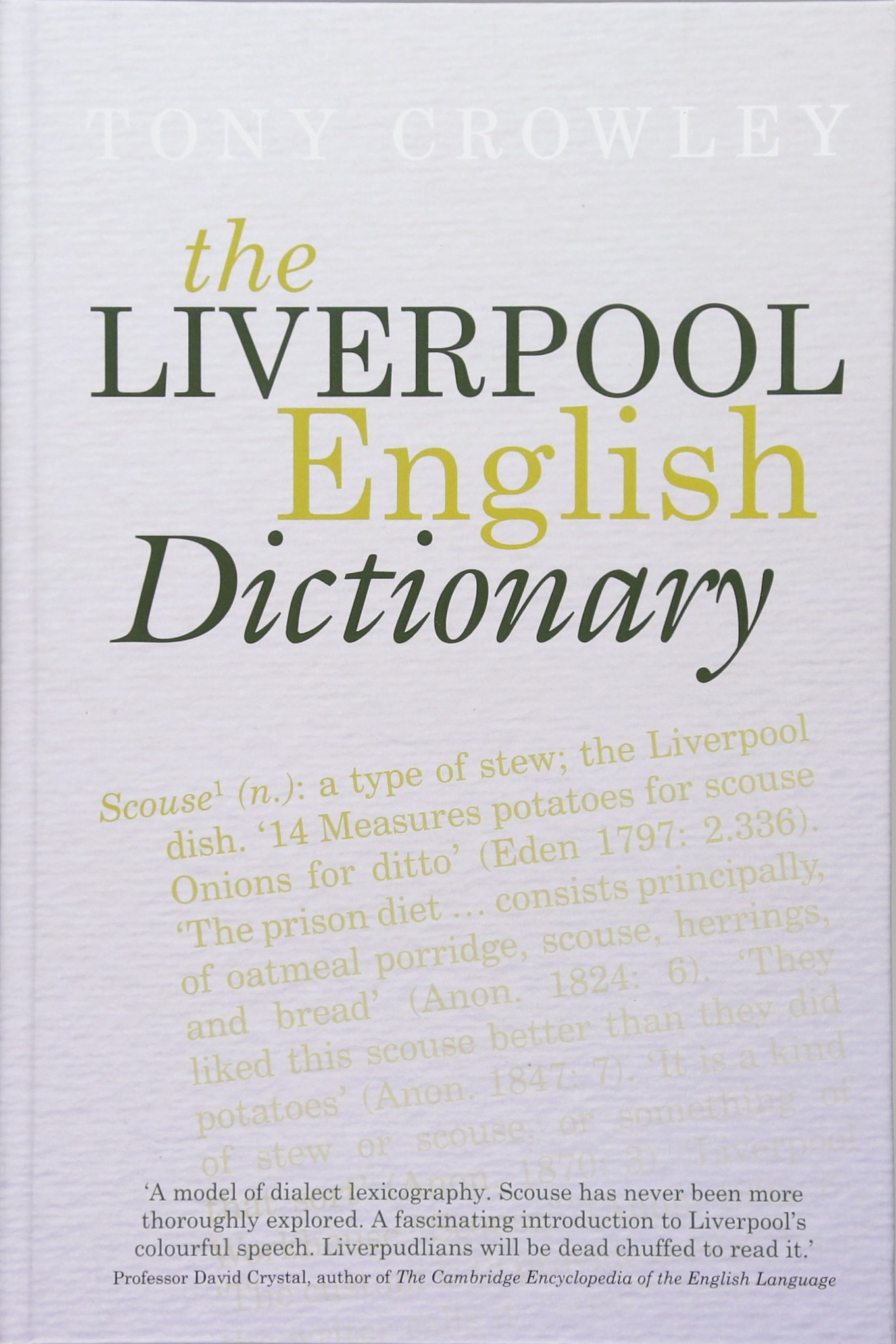 scouse dictionary book