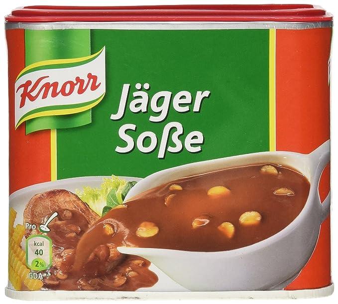 Jager salsa (salsa de Hunter) (Knorr) 2 litros