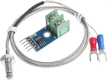 K Type Thermocouple Temperature Sensor M6 for Arduino MAX6675 Module