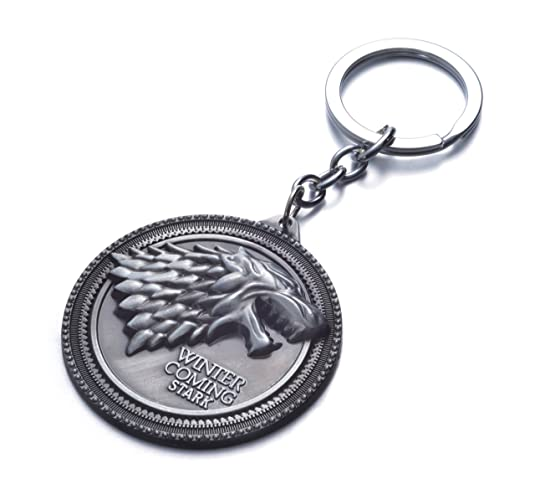 Amazon.com: Game Of Thrones House Stark Sigil Crest metal ...