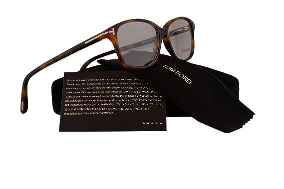 81f4f8e5d0e Amazon.com  Tom Ford FT5316 Eyeglasses 54-14-140 Havana w Demo Clear ...
