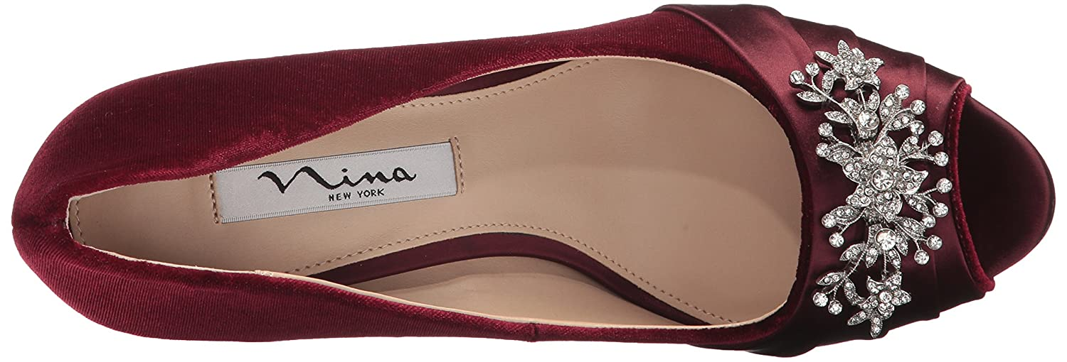 Nina Women's 10 Rumina2 Dress Pump B0711R4BM4 10 Women's B(M) US|Yv-merlot 164702