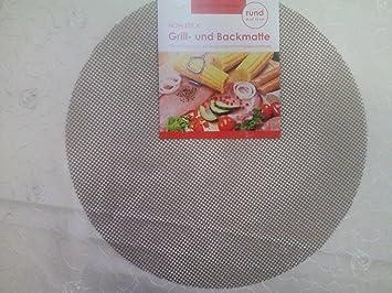 Grillmatte Für Gasgrill : Stück grillmatte backmatte rund cm für grillrost schwenkgrill