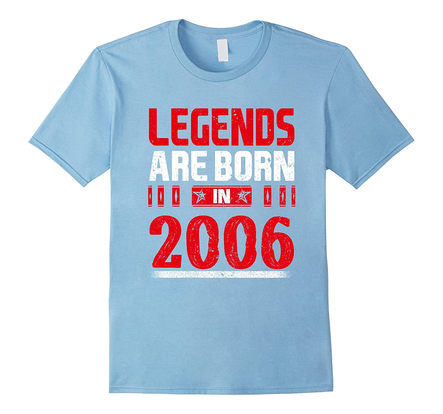 11th Birthday Gift Legends Are Born In 2006 Shirt-TH