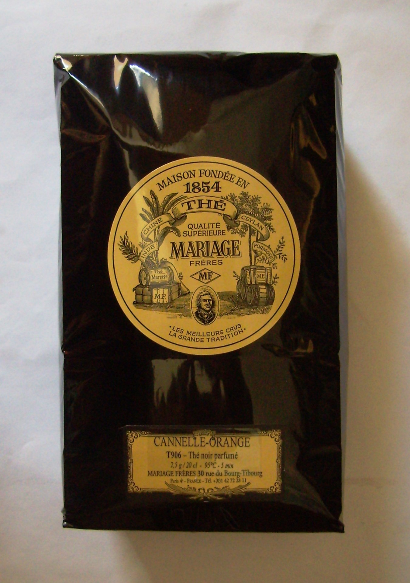 Mariage Frères - CANNELLE-ORANGE (Black tea cinnamon & orange) - LOOSE LEAF BAG - 17.63oz / 500gr
