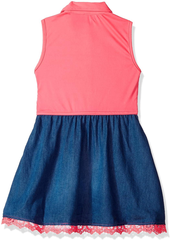 U.S. Polo Assn. - Vestido casual, Assn. casual, Niñas Tencel - Lace ...