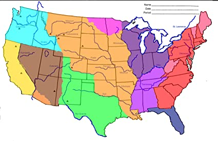 Amazoncom Home Comforts Laminated Map Quia Class Page Westward - Map-of-us-during-westward-expansion