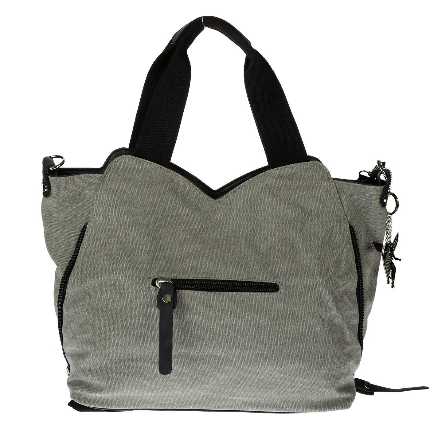 Kossberg G-6210 Bolso de tela de Lona para mujer Verde verde