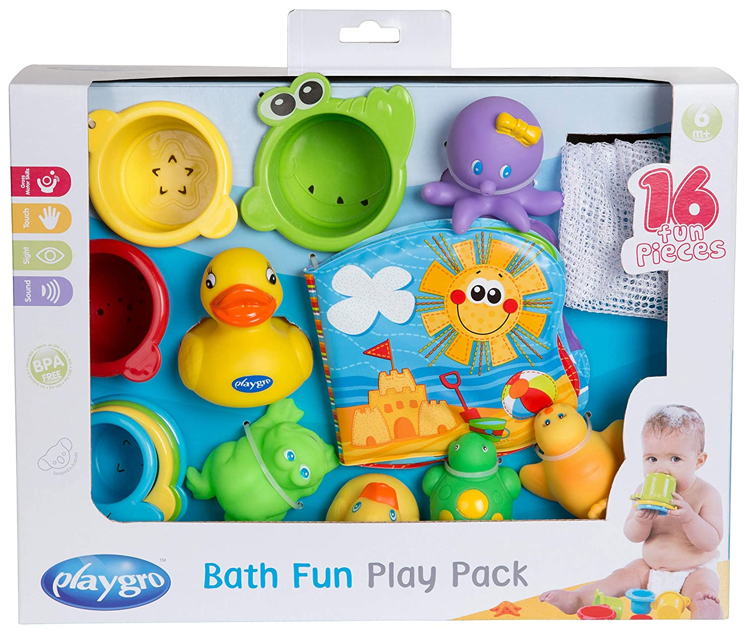 Playgro Bath Fun Play Pack 0182933