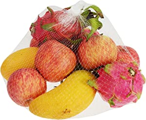 Hedume 200 Pack Plastic Mesh Bags, Produce Bags, Mesh Storage Food Bags for Grocery Shopping & Storage of Fruit Vegetable seadfood & Garden Produce