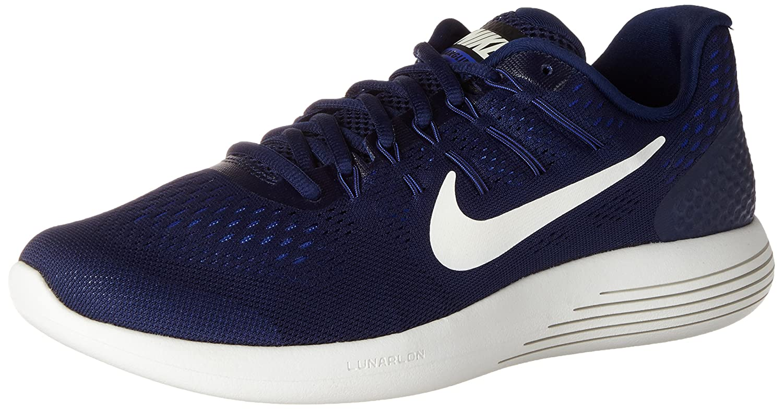 Nike Mens Lunarglide 8, Black / White - Anthracite B01H2Q7MAU 9.5 D(M) US|Binary Blue/Summit White/Black
