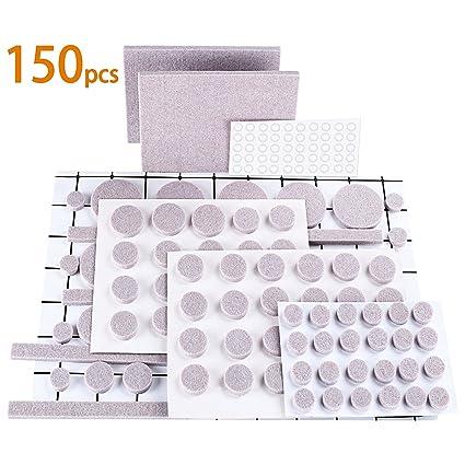 OLEBR Furniture Pads Premium Ultra Large Pack Furniture Felt Pads 150 Pcs  100 Felt Pads Furniture