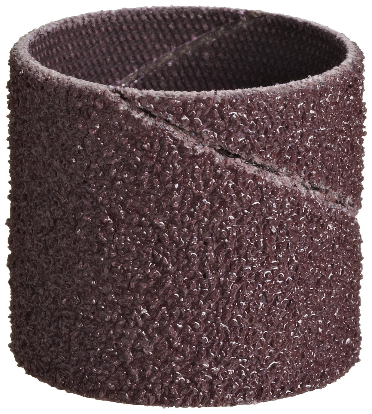 Aluminum Oxide 50 Grit Pack of 100 3M Cloth Band 341D 1 Diameter x 1 Width
