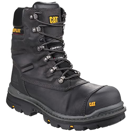 170d90d117e CAT Footwear Men's Premier 8 Inch Wr Tx Ct S3 HRO Src Safety Boots