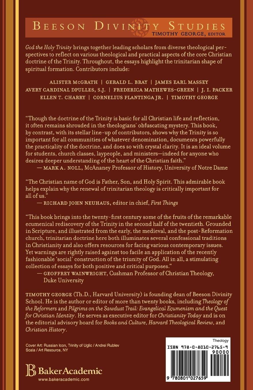 God the Holy Trinity: Reflections on Christian Faith and