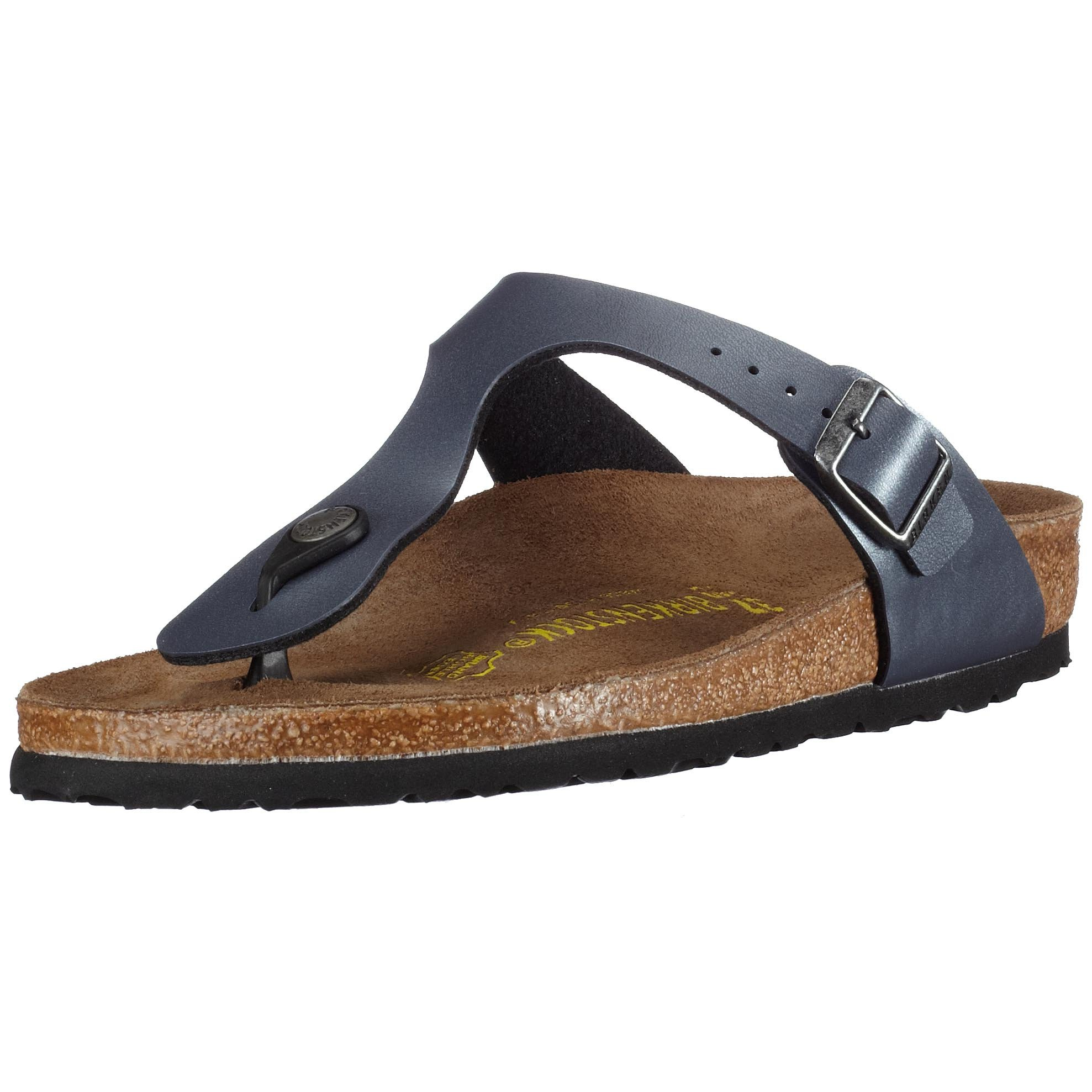 Birkenstock Women's Gizeh Cork Footbed Thong Sandal Onyx 41 M EU