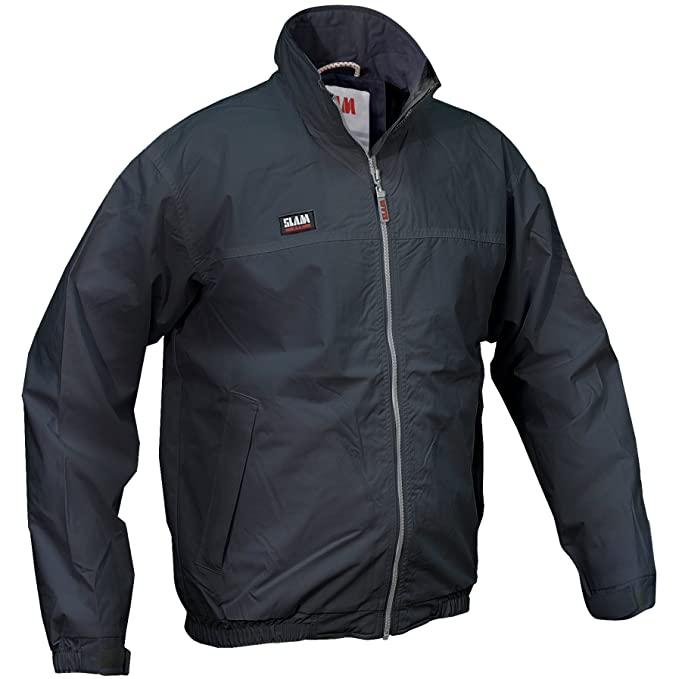 a8d2de586a1195 Slam - Giacca a Vento Estiva - Uomo (S) (Blu navy): Amazon.it: Abbigliamento