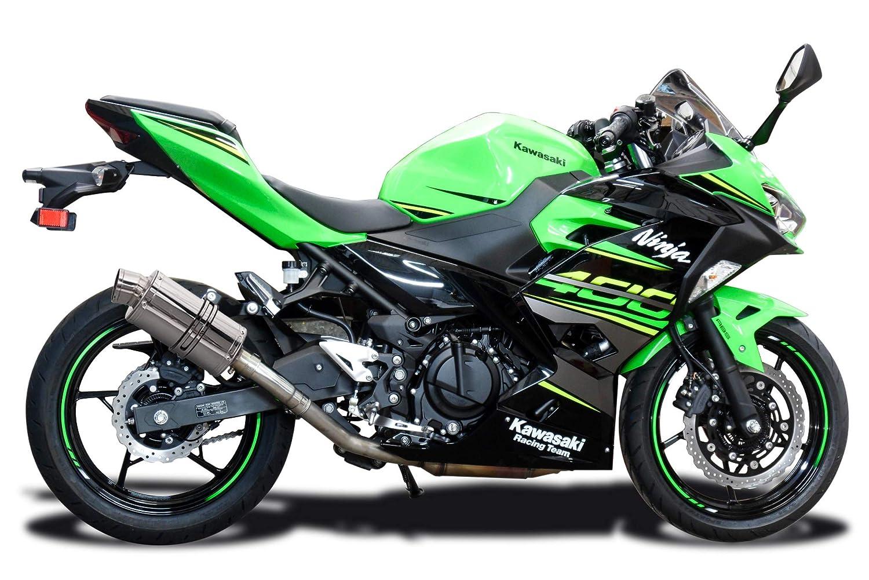 Delkevic Kawasaki Ninja 400 SS70 - Silenciador de escape ...