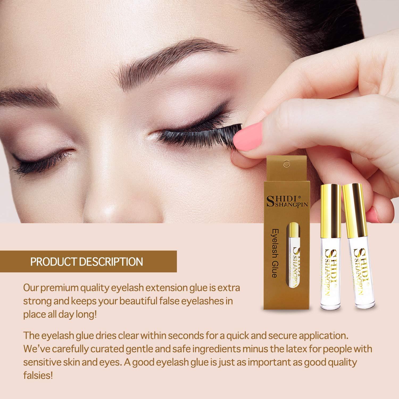 Amazon Eyelash Glue 5ml Eyelash Adhesive Extra Strong Clear
