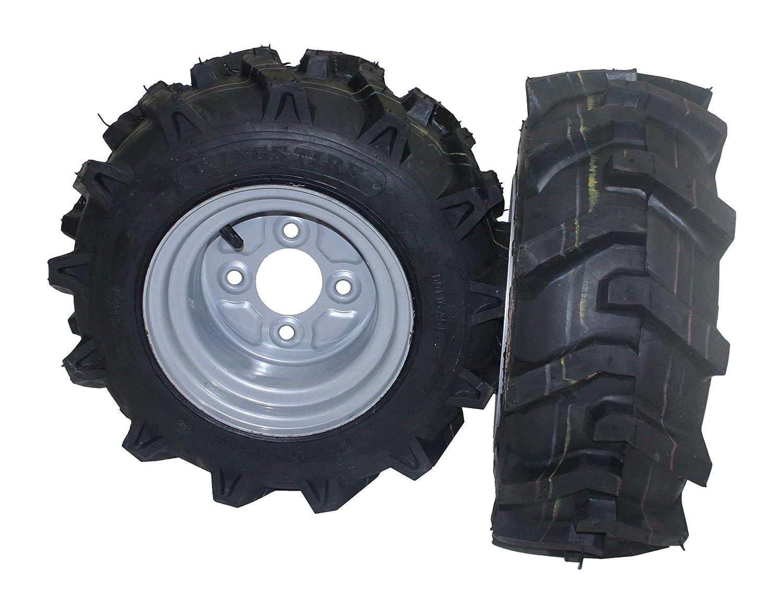 Bricoferr PT40326P Juego de ruedas agrícolas para derecha y ...