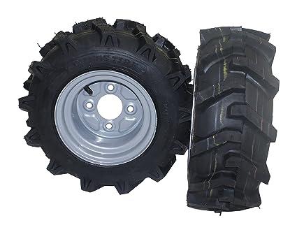 Bricoferr PT40326P - 1Juego de ruedas agrícolas para derecha y izquierda (16 x 6.50-