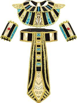 SATINIOR Accesorio de Traje Egipcio Incluye Cinturón Egipcio ...