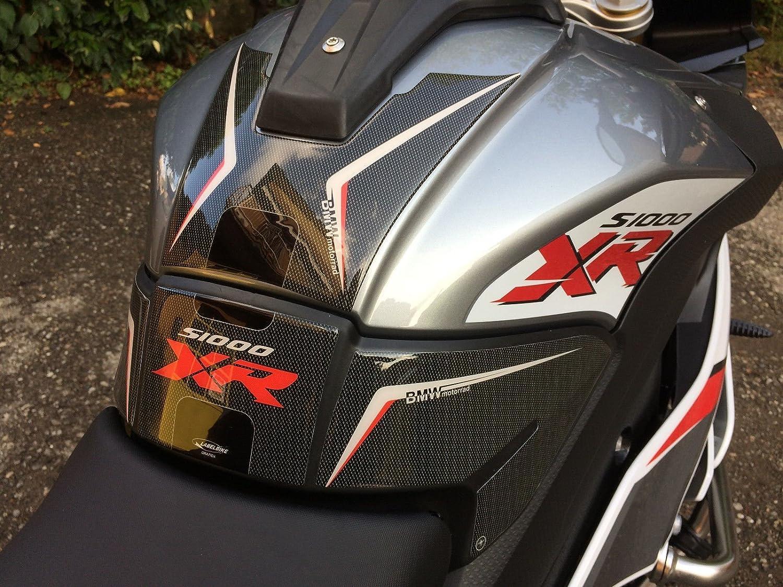 Kit S1000 XR Pegatinas PROTECCIÓN DE Tanque 3D Compatible con BMW S1000XR Moto: Amazon.es: Coche y moto