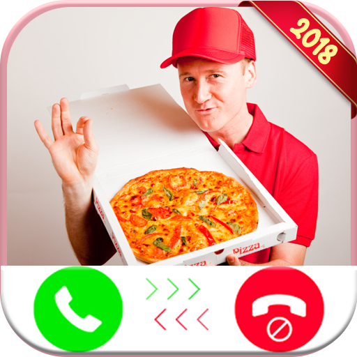 Instant Real live Fake Call From Delivery Pizza 2 - Free Fake Phone