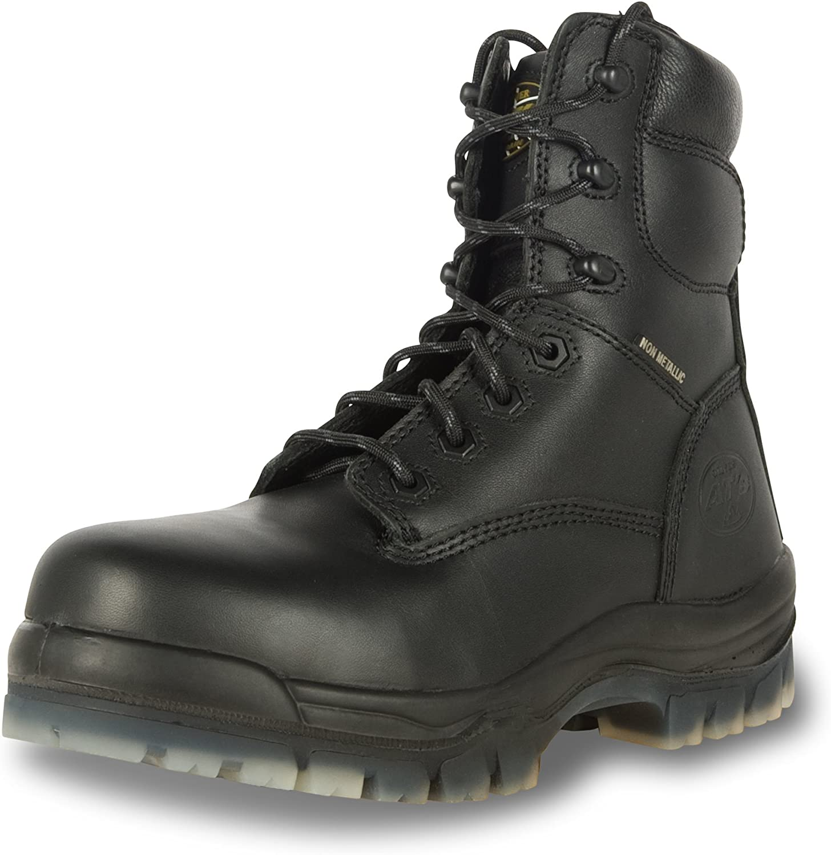 Composite Toe Work Boots, Black (45646C