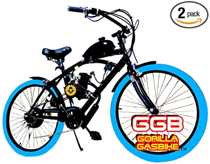 Amazon 66CC 80CC 2 STROKE MOTORIZED BIKE KIT AND 26 BEACH