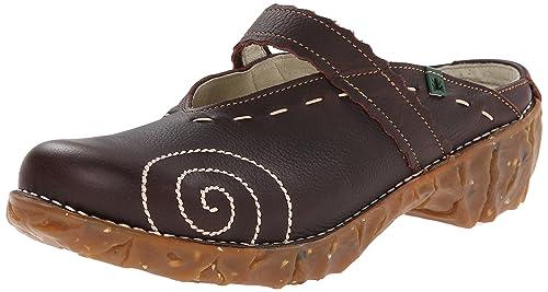 a755c2a5 El Naturalista Yggdrasil N096, Zuecos Mujer: Amazon.es: Zapatos y  complementos