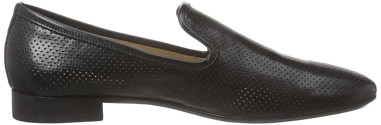 MELVIN & HAMILTON MH HAND Claire MADE Schuhe OF CLASS Claire HAND 6 Damen Slipper Schwarz (Salerno Perfo schwarz, Ls Welt schwarz) ed913b