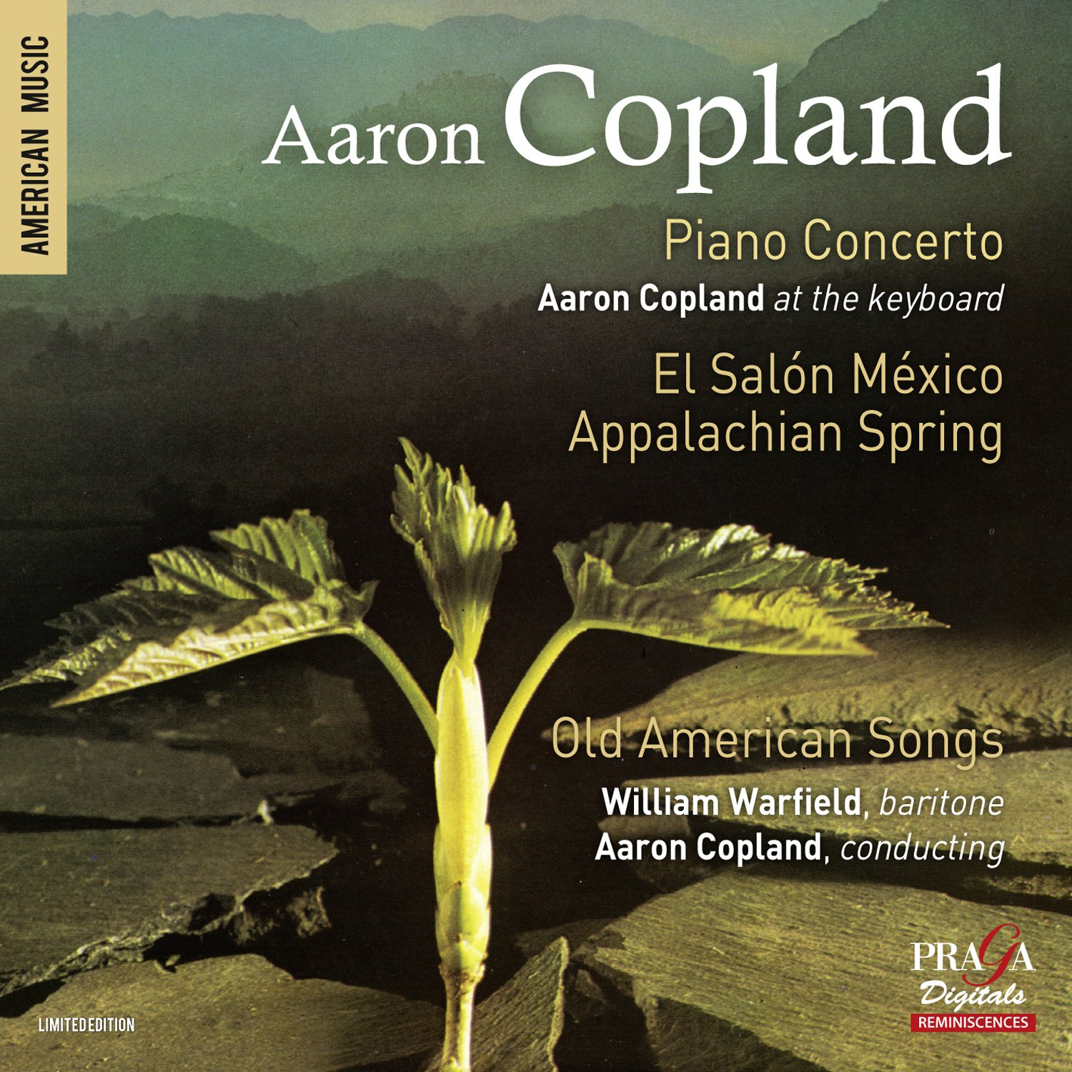 Copland: Piano Concerto, Appalachian Spring, Old American Songs by PRAGA
