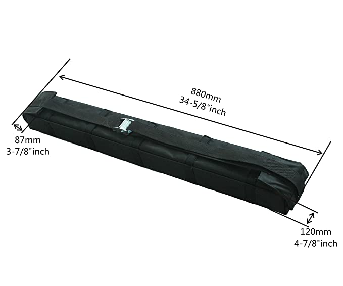 Carga canoa coche camión suave techo zanja accesorio de, extraíble ...