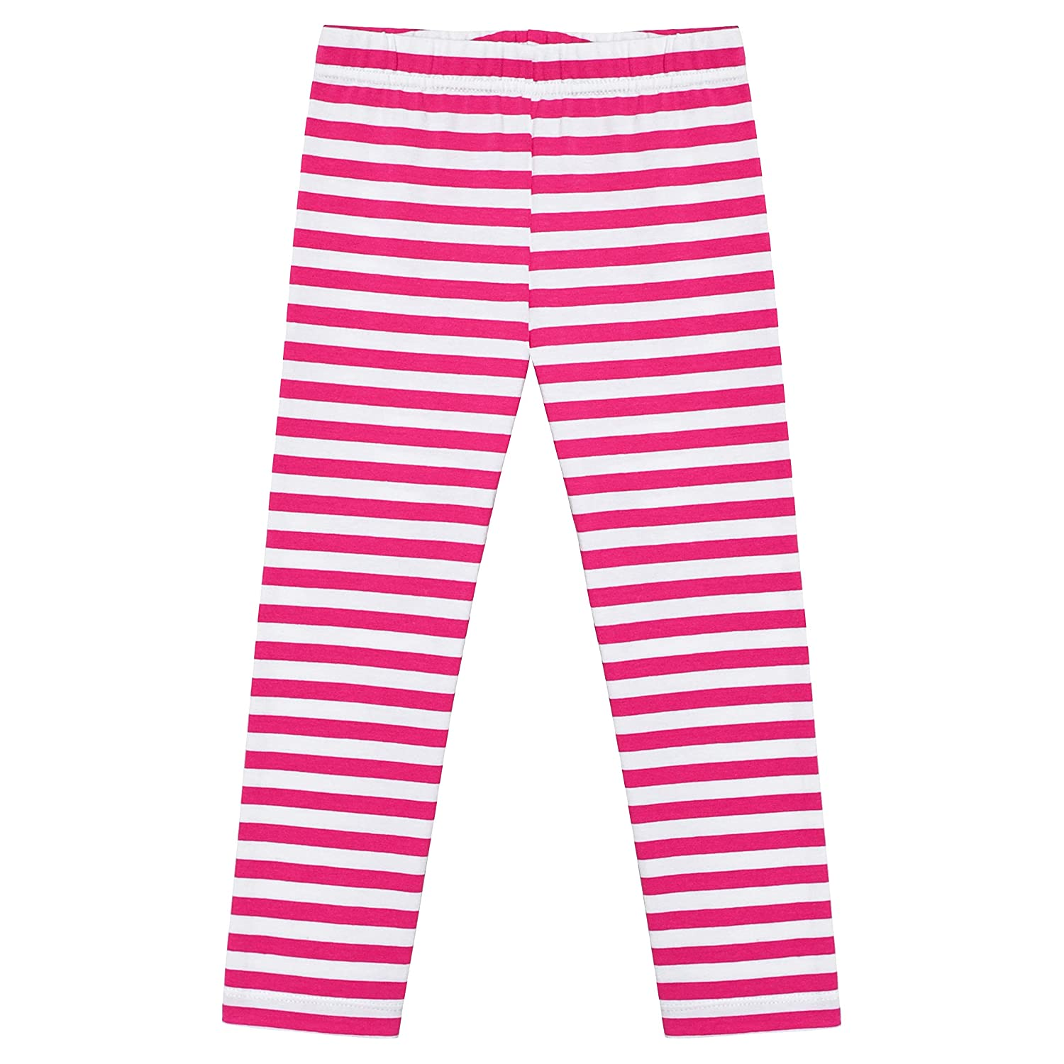 Sunny Fashion Girls Pants 3-Pack Cotton Leggings Lace Stretchy Kids Toddler Age 2-6 Years